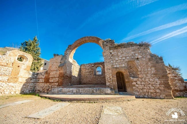 Este templo de Hita fue destruido durante la Guerra Civil