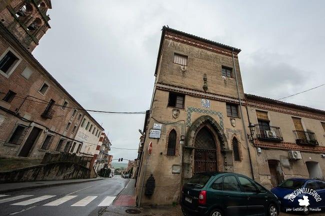El antiguo museo de la Cerámica se encontraba en el palacio de Torrijos