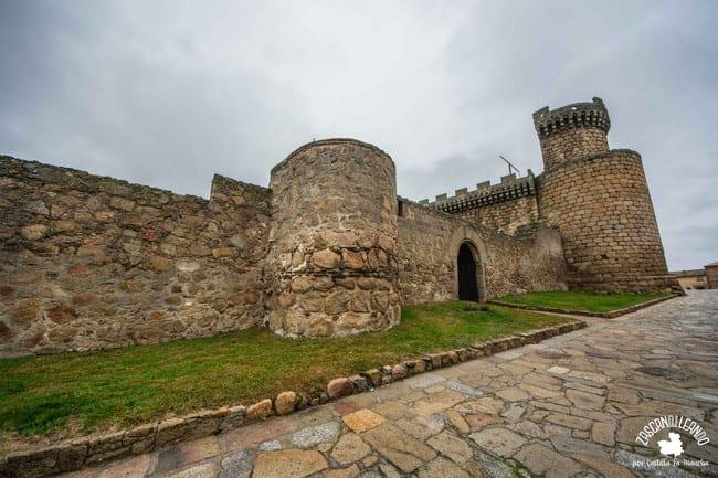 Lienzo de muralla del castillo de Oropesa