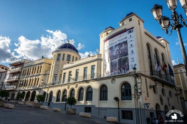 La cúpula del ayuntamiento de Hellín es pura belleza