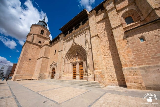 Es una de las portadas más bonitas en la provincia de Ciudad Real