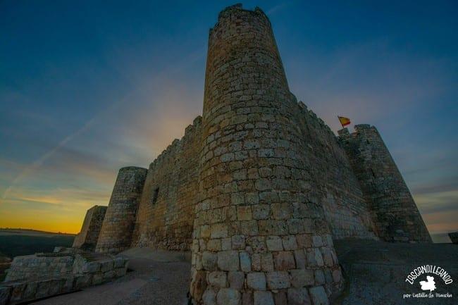 Las vistas desde el perímetro exterior del castillo son preciosas