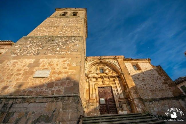 Es el templo más importante de Jadraque y uno de los más grandes de la Alcarria