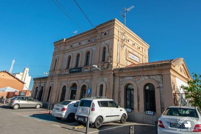 La estación de tren de Torrijos es un edificio del siglo XIX de estilo historicista