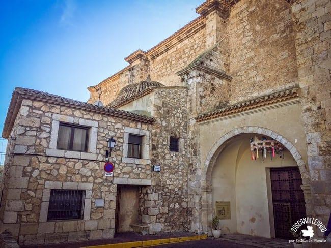 La iglesia de Jorquera posee estilo gótico de transición al renacentista
