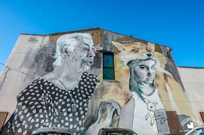 Este es uno de los múltiples murales que existen en la localidad de Torrijos