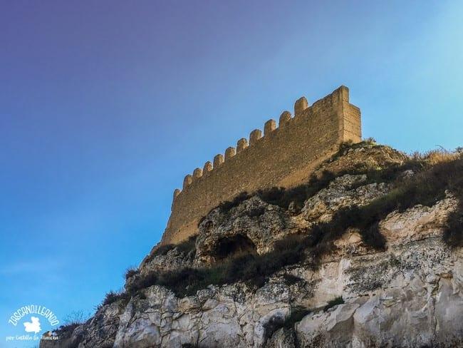 Esta muralla del siglo XII se puede encontrar en distintos puntos del pueblo de Jorquera