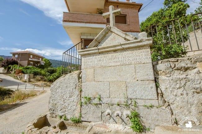 El Real de San Vicente tiene muchas fuentes cuyas aguas son de gran calidad