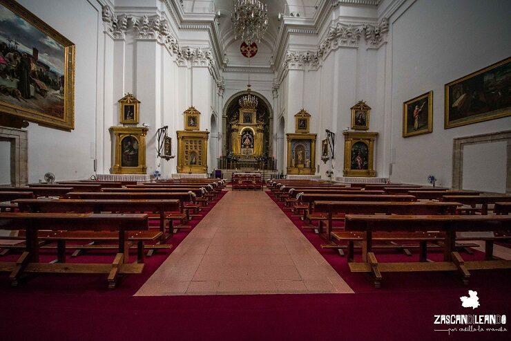 Interior del santuario de La Caridad en Illescas, Toledo