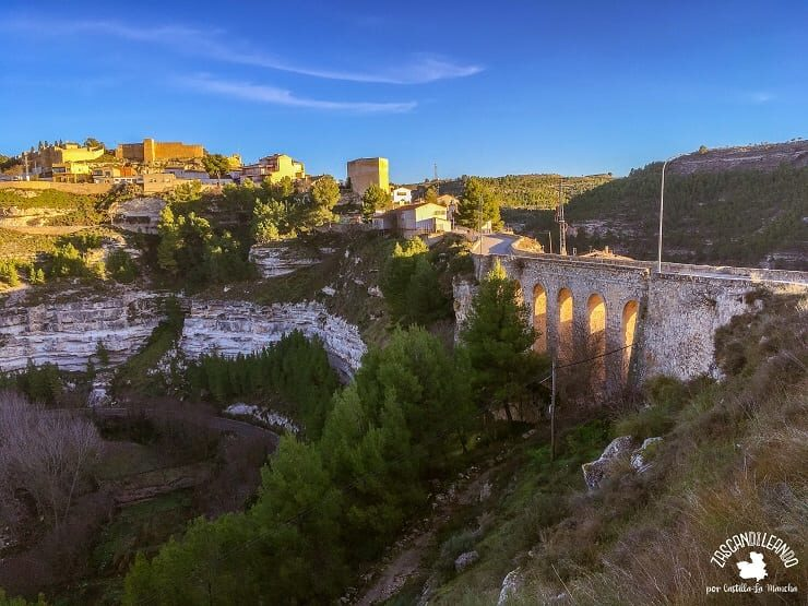 Vistas del pueblo de Jorquera, en la Manchuela de Albacete
