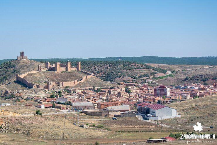 Vista panorámica del pueblo de Molina de Aragón, Guadalajara