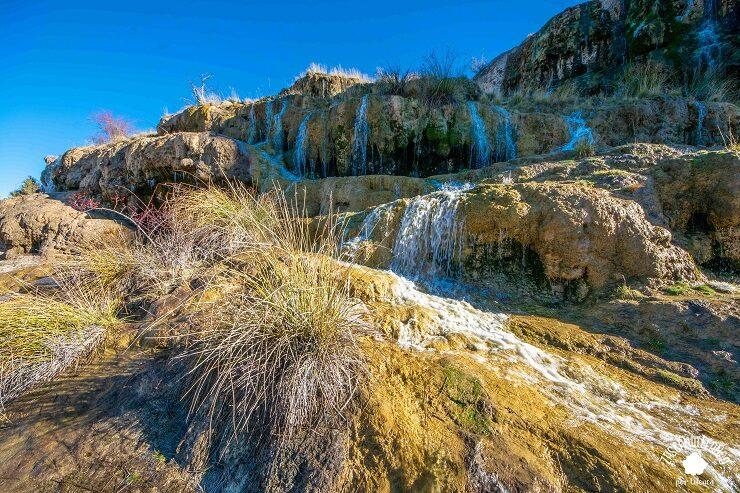 Cascada que forma la Balsa de Valdemoro-Sierra